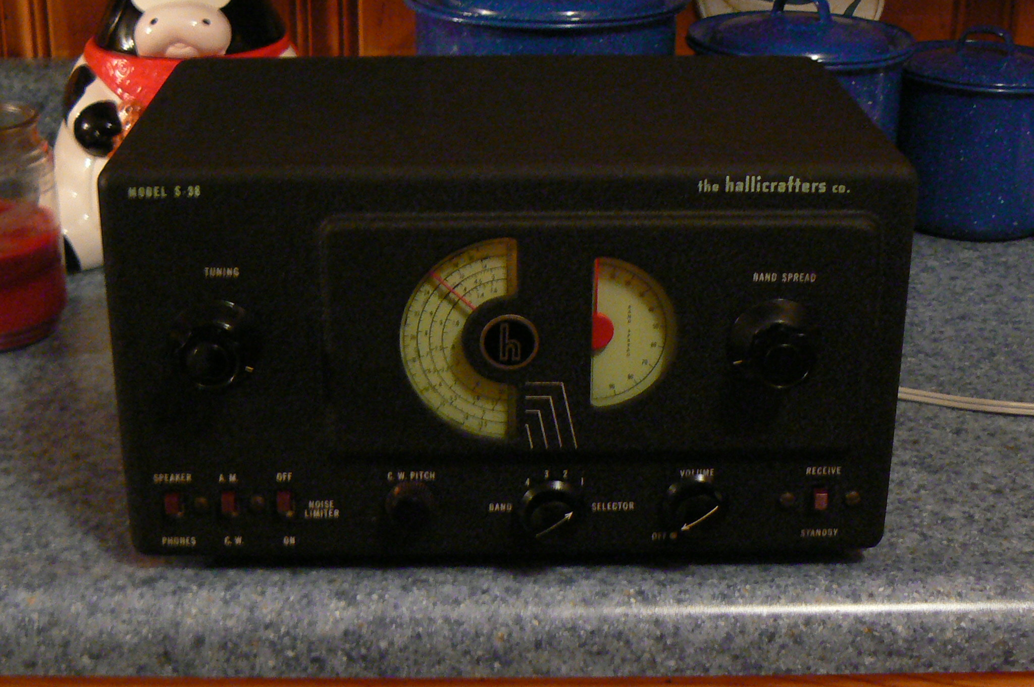 Boatanchor shortwave furthermore 3517 Kenwood Ts 950s in addition Remembering Vacuum Tube Radio Gear additionally S 38c moreover Qsl Ham History12. on hallicrafters s 38 shortwave receiver